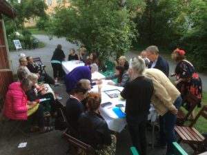Info möte med Konstnärer, 15 juni-16